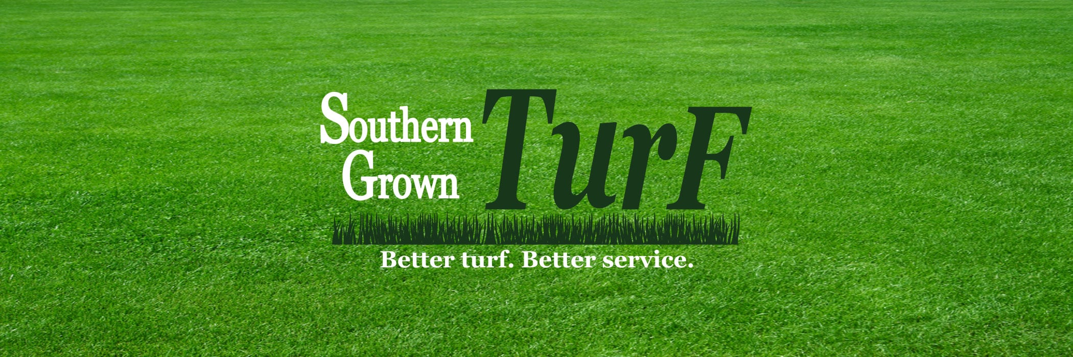 Southern Grown Turf lawn banner